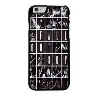 fob fall out boy tour iphone 6 plus 6s plus 4 4s 5 5s 5c cases