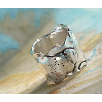 Sterling Silver Chunky Ring