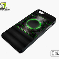 Green Lantern iPhone 5s Case Cover by Avallen