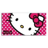 Sanrio The Northwest Company Hello Kitty Happy Kitty Beach Towel, 30 by 60""