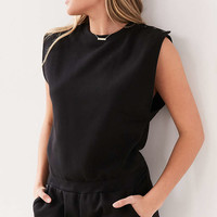 BDG Bubbalicious Muscle Sweatshirt Romper - Urban Outfitters