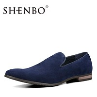 New Arrival Suede Slip On Men Casual Shoes, Fashion Shoes Men,  Casual Men Shoes