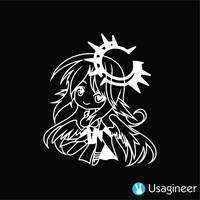 NO GAME NO LIFE JIBRIL ANIME DECAL STICKER