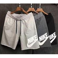 NIKE Print Side Women Men Sports Running Shorts