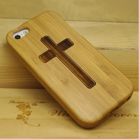 Cross iPhone 5 Bamboo Case for iPhone 5