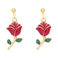 Rose Charm Earring