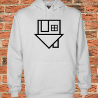 the neighbourhood logo Black white Pullover Sweater Sweatshirt Hoodie