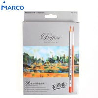 Marco 24/36PCs Color Pencil High Quality Water Base Drawing Professional Artist Sketching Colored Pencils School Supplies Painting Pencils