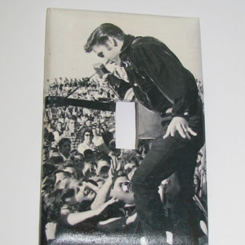 Light Switch Cover - Light Switch Plate Elvis Presley