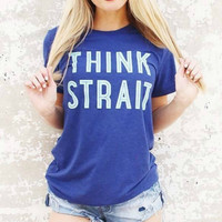 Charlie Southern Think Strait Tee