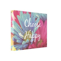Inspirational Choose Happy Quote Affirmation