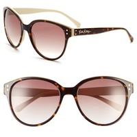 Women's Lilly Pulitzer 'Cassidy' 58mm Sunglasses