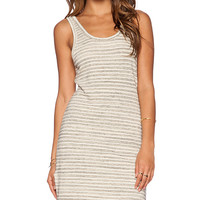 Saint Grace Bonita Mini Dress in Beige