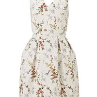 Spriggy Floral Dress | White | Monsoon