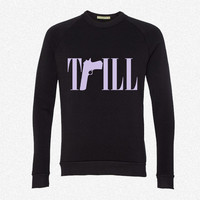 TRILL 2 fleece crewneck sweatshirt