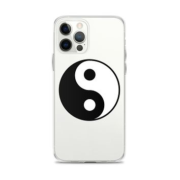 yin and Yang iPhone 12 Case