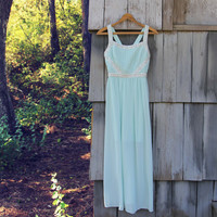 Spool Couture Mint & Snow Dress