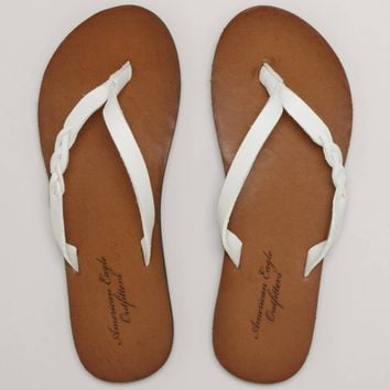 AEO Braided Flip-Flop | American Eagle Outfitters