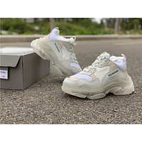 Balenciaga Triple S Trainers White Sneakers 36-44