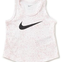 Nike Little Girls 2T-6X Print Swoosh Tank | Dillards