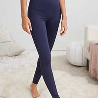 Aerie Hi-Rise Play Legging, Navy