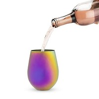 Mirage Stemless Iridescent Wine Glass