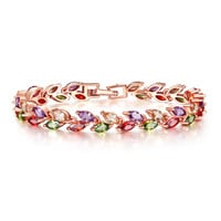 Gift Stylish Hot Sale New Arrival Awesome Great Deal Shiny Crystal Birthday Bracelet [11597565775]