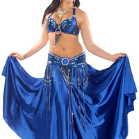 Red Belly Dance Costume on Bellydance.com