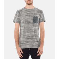 Rhythm My Tee Grey Space Dye