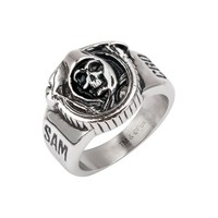 Sons of Anarchy Grim Reaper Gunsickle Ring - Size 10