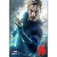 S461 Avengers Age of Ultron Characters Marvel Movie Quicksilver Wall Art Painting Print On Silk Canvas Poster Home Decoration