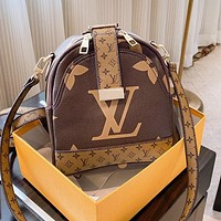 LV Louis Vuitton Fashion Woman Leather Shoulder Bag Backpack Satchel Crossbody Shoulder Bag