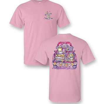 Sassy Frass Preppy Pink Lemonade Truck T-Shirt