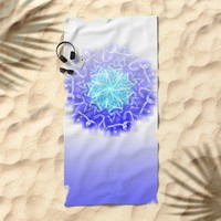 SUTRA Beach Towel by Chrisb Marquez