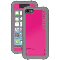 Ballistic Iphone 5 And 5s Every1 Series Case (raspberry Pink And Charcoal Gray)