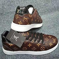 Louis Vuitton LV sneakers all-match casual shoes men and women fashion casual sports shoes
