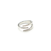 Claw Jewel Ring (Silver)