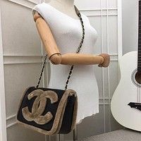 CHAN LV SIZE 23×16×7 cm Double CC silver and gold on Chain cross body bag Chane vintage Chanl jumbo Crossbody Satchel Shoulder Bag Monogram Tote Handbag Bags top Quality