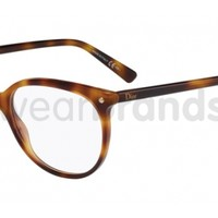 Dior CD 3284 Dior CD3284 05L Havana Glasses | Eyewear Brands