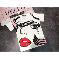 NEW 100% Authentic Moschino women t shirt ♀017
