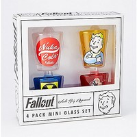 Fallout Shot Glass Set - 4 Pack - Spencer's