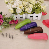 New Design Fashion Hot Drinks Milk Frother Foamer Whisk Mixer Stirrer Egg Beater free shipping