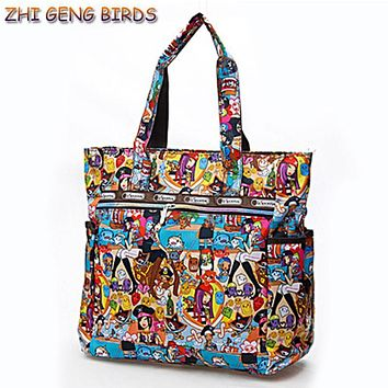 ZHI GENG BIRDS Women Handbag Fashion Original Bolsos Famous Brand Big Messenger Bags Sac Mummy Lady Tote Female Summer Beach Bag