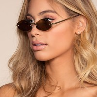 Nova Sunglasses - Brown