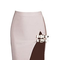 Donna Blush Two Piece Bandage Dress
