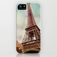 Paris 4 iPhone & iPod Case by Mareike Böhmer Graphics
