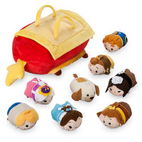 Disney Usa Beauty and the Beast Tsum Plush Set with 8 Minis New with Tags