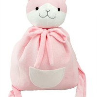 "17"" Super Dangan Ronpa Nanami Chiaki Handmade Plush Cat Backpack Bag"