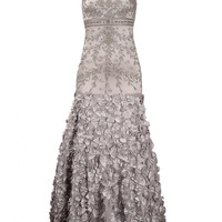 Sue Wong N1385 Platinum Wedding or Evening Gown