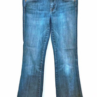 """7 For All Mankind """"A"""" Pocket Flare Jean"""